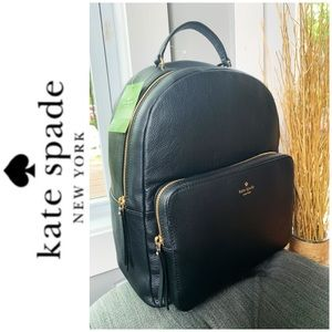 NWT Kate Spade genuine leather large backpack